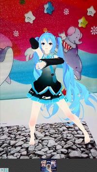 AR Dancer Miku HD screenshot 4
