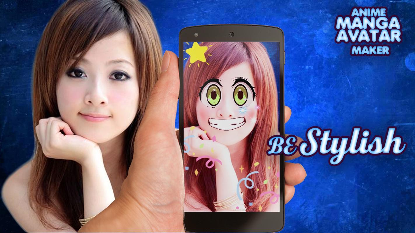 Anime face photo editor poster anime face photo editor apk screenshot