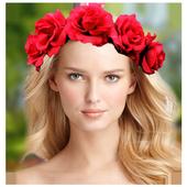Flower Crown Photo Sticker Pro icon