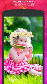 Flower Crown Photo Sticker Pro screenshot 3