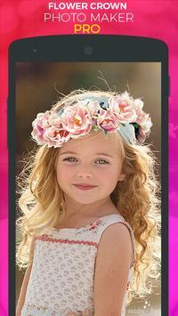 Flower Crown Photo Sticker Pro screenshot 2