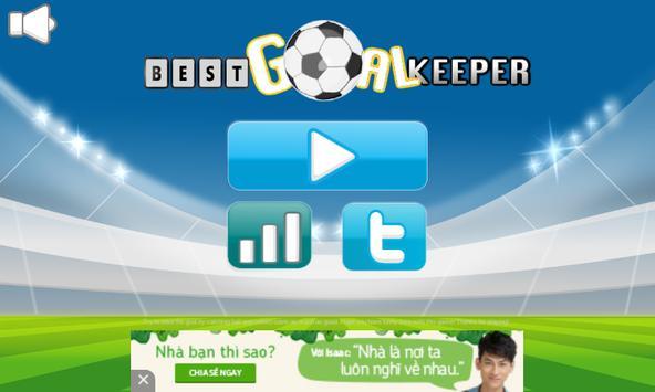 Best Goal Keeper poster