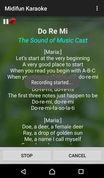 Midifun Karaoke screenshot 2