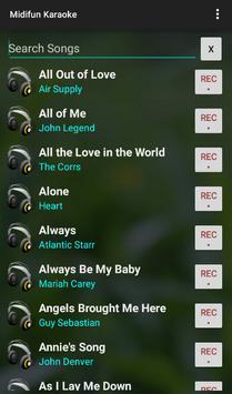 Midifun Karaoke screenshot 4