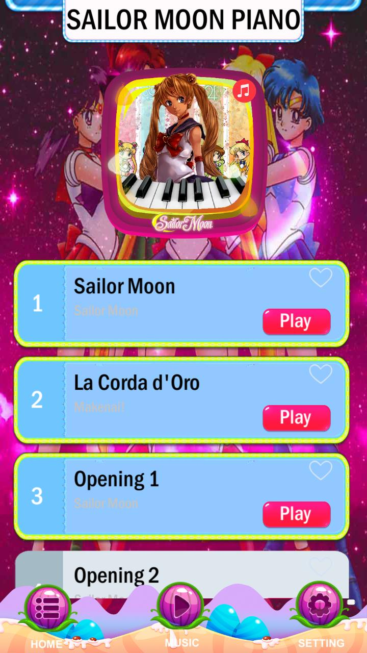 Piano Tiles Sailor Moon For Android Apk Download