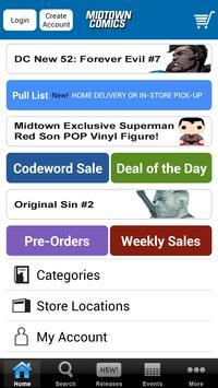 Midtown Comics apk screenshot