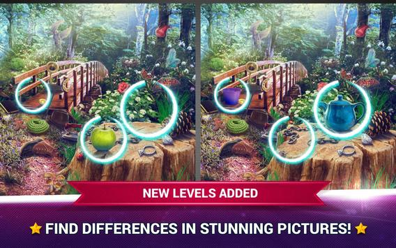 Find the Difference Fairy Tale Games – Spot It poster