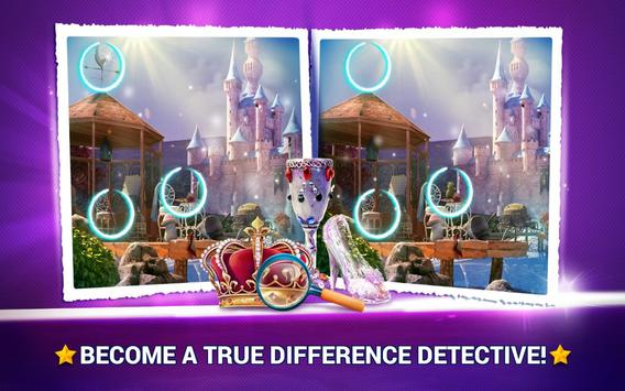 Find the Difference Fairy Tale Games – Spot It screenshot 2