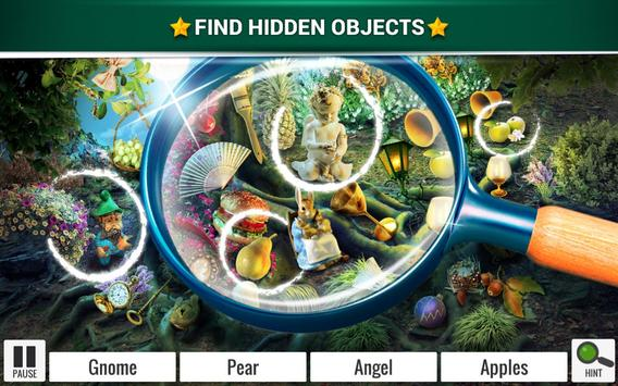 Hidden Objects Mystery Garden – Fantasy Games poster