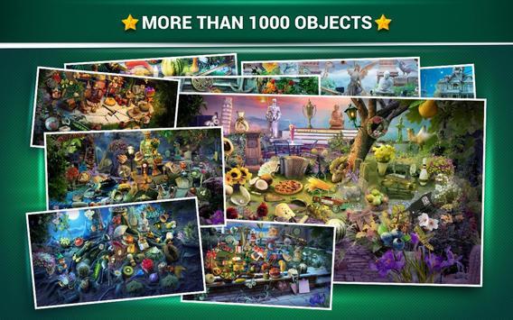 Hidden Objects Mystery Garden – Fantasy Games apk screenshot