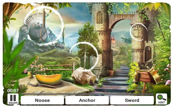 Objetos Escondidos Castelo - Jogos de Terror Cartaz