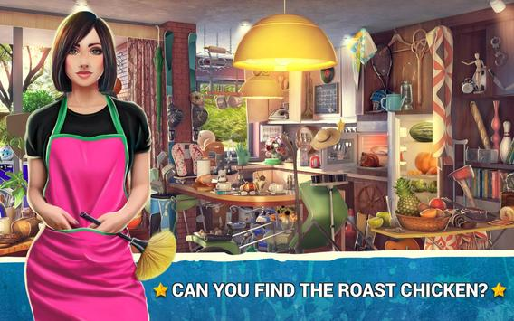 Hidden Objects Messy Kitchen 2 – Cleaning Game poster