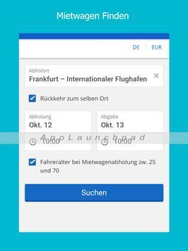 Mietwagen App screenshot 5