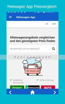 Mietwagen App screenshot 6