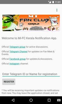 Mi Fan Club - Kerala poster