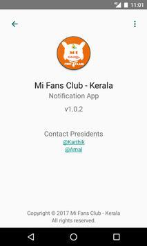 Mi Fan Club - Kerala apk screenshot