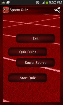 Sports Quiz poster