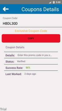 Coupons for Harbor Freight screenshot 2