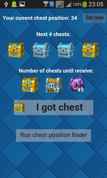 Poster Chest Finder for Clash Royale