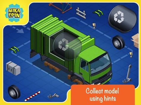 Create car puzzle game for kid apk screenshot