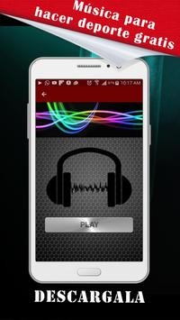 Music to do exercises apk screenshot