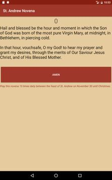 St. Andrew Novena screenshot 1