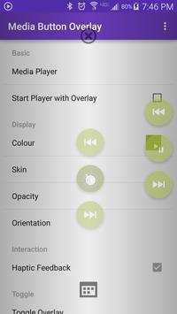 Media Button Overlay screenshot 1