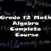 Grade 12 Math: Algebra icon