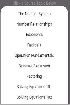 Grade 12 Math: Algebra screenshot 1