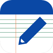 Notes app free Android icon