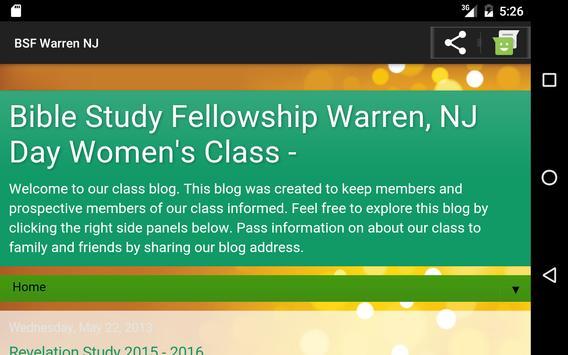 BSF Warren NJ apk screenshot