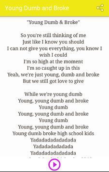 Khalid - Young Dumb And Broke apk screenshot
