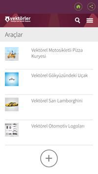 Vektörler apk screenshot