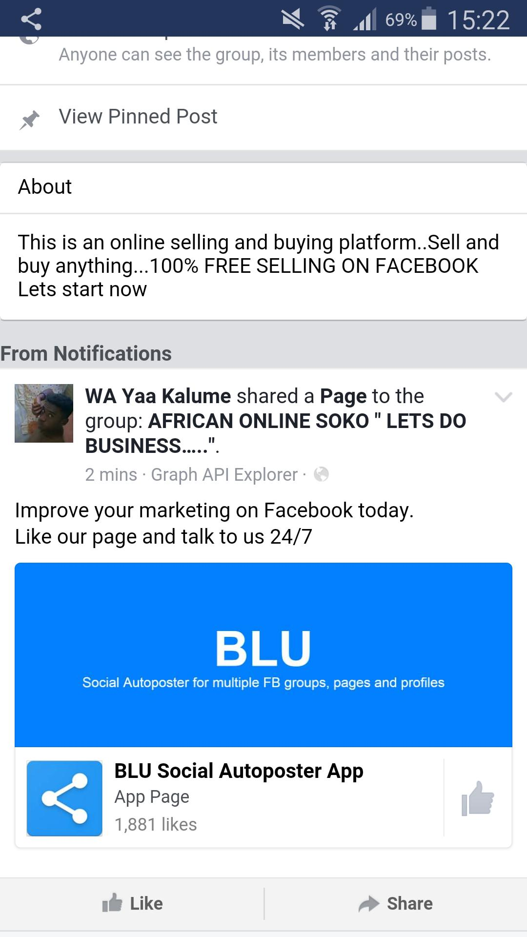 BLU Groups & Pages Auto Poster for Android - APK Download