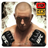 Georges St Pierre UFC Wallpaper icon