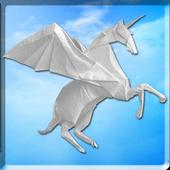 Origami paper craft (video)  1 icon