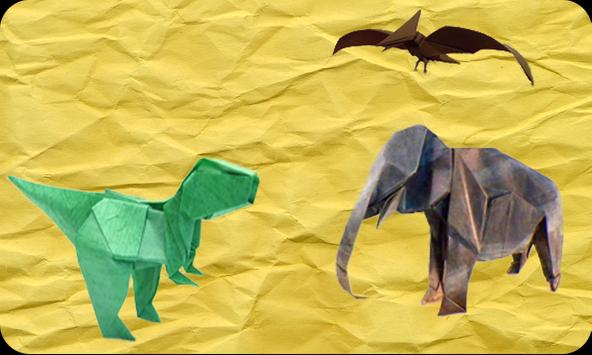 Origami paper craft (video)  1 poster