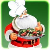 Christmas salad recipe photo icon