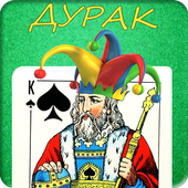 Durak (fool) - card game icon