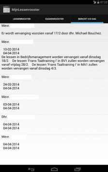 MijnLessenrooster apk screenshot