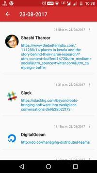 MyTweetLinks apk screenshot