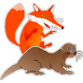 The Fox and the Otter icon