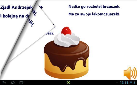 Poprzewracane wierszyki apk screenshot