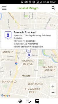 Localist Milagro apk screenshot
