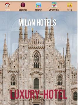Milan Hotels poster