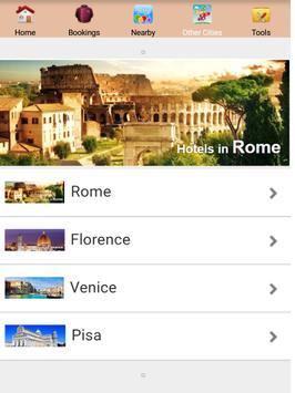 Milan Hotels apk screenshot