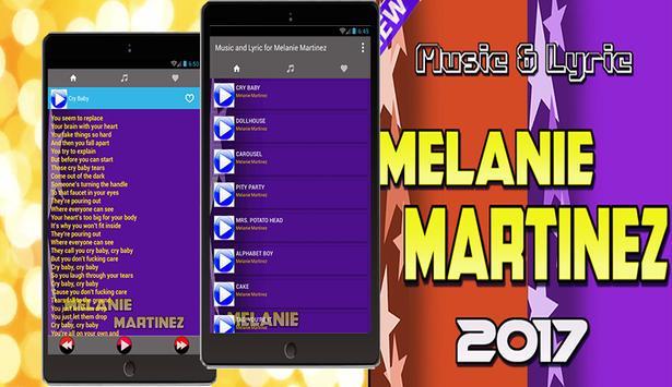 Music & Lyric for Melanie Martinez apk screenshot
