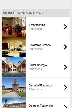 Milan Travel Guide apk screenshot
