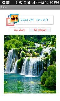 Tile Puzzle Nature apk screenshot