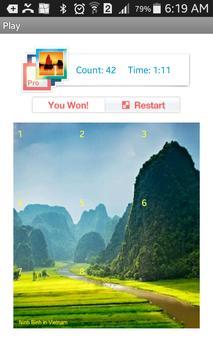 Tile Puzzle Nature screenshot 6